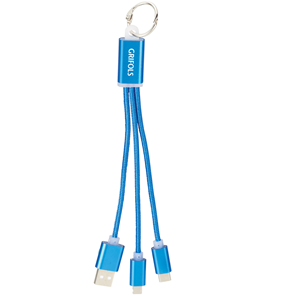 Picture of Metal 3 in 1 Charging Cable