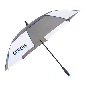 "Picture of 60"" Heathered Sport Golf Umbrella"