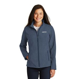 Picture of Ladies' Heathered Soft Shell Jacket