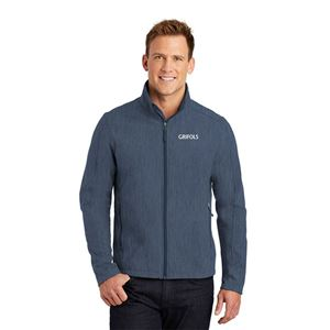 Picture of Men's Heathered Soft Shell Jacket
