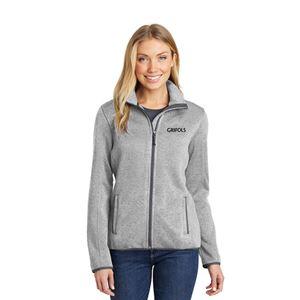 Picture of Ladies' Sweater Fleece Jacket